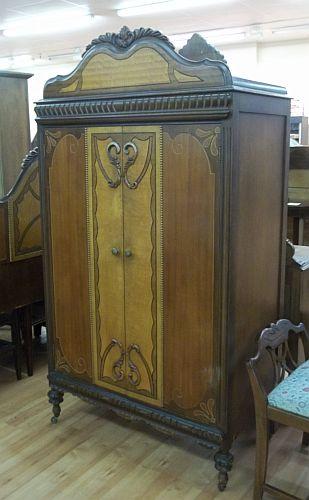 Custom Shabby Chic Vintage Clothing Armoire Wardrobe Cupboard