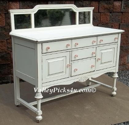 buffet server sideboard shabby chic furniture accessories vpu. Black Bedroom Furniture Sets. Home Design Ideas